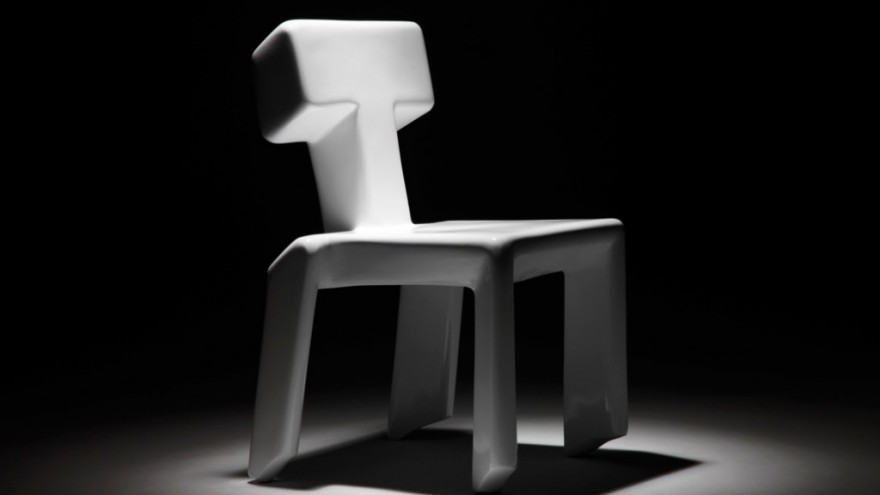 Stubborn Chair by Jurgen Bey.