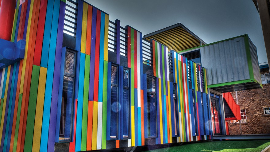The Seed Library in Alexandra Township, Johannesburg, designed by Architects of Justice.