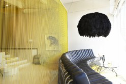 Songololo Sofa and Fiela Light by Haldane Martin