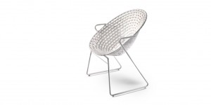 Zulu Mama Cafe Chair by Haldane Martin
