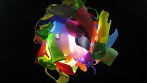Bottle Form Ball by Heath Nash.