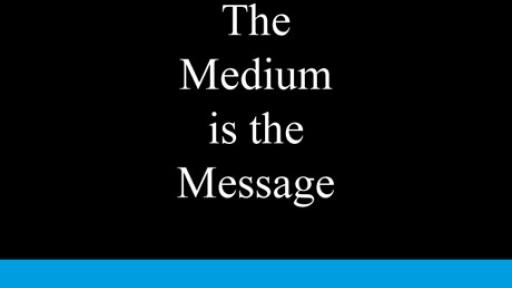 The Medium is the Message - BIS Publishers.