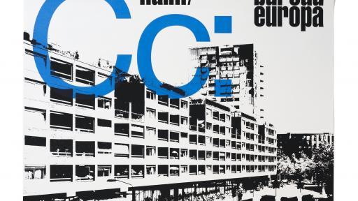 'Club Céramique', A0-sized screenprinted poster for NAiM / Bureau Europa (Maastricht, NL), 2010