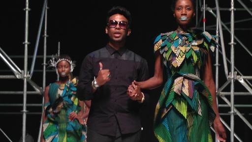 David Tlale at Design Indaba Expo 2014.