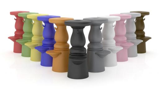 Marcel Wanders. New Antique Barstool.