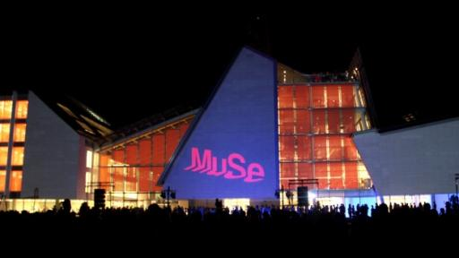 MUSE identity by Harry Pearce.