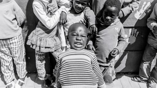 Gege crèche in Langa. Image: Sandy Greenway.