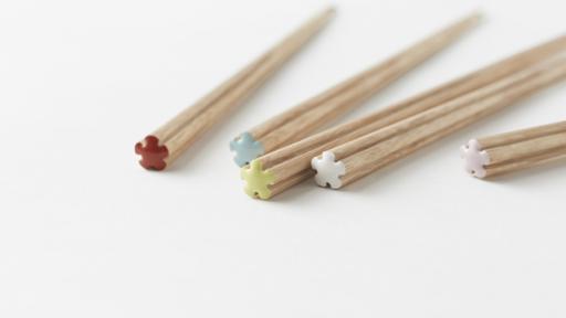 The Hanataba chopsticks by Nendo. Image: Akihiro Yoshida