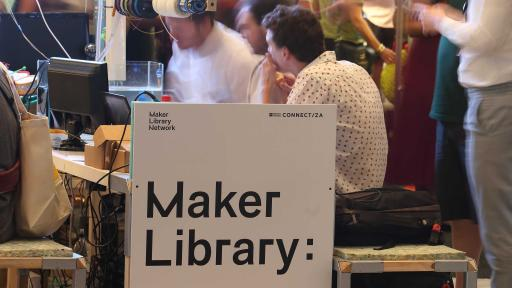 The Maker Library at Design Indaba Expo 2014.