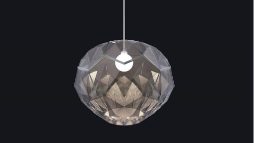 The Ukhamba lamp.