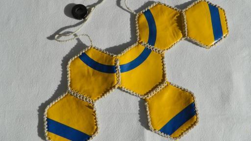 SKOP Medallion neckpiece.