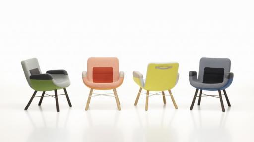 East River Chair by Hella Jongerius.