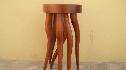 Crazy Legs Table by Tekura Design.