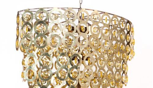 Liz Oval Crystal chandelier