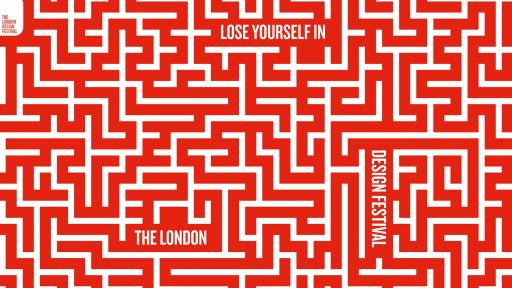 London Design Festival visual campaign by Domenic Lippa.
