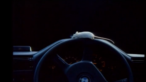 Keith Rose's famous BMW ad featuring a mouse.