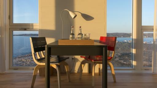 Fogo Island Inn furniture.