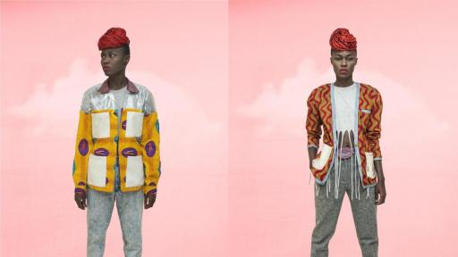 Selly Raby Kane's 2014 Fall/Winter collection.