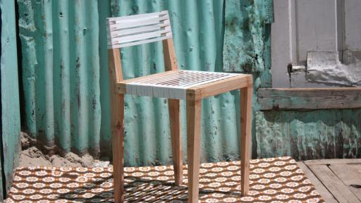 Bonga Jwambi back rest chair.