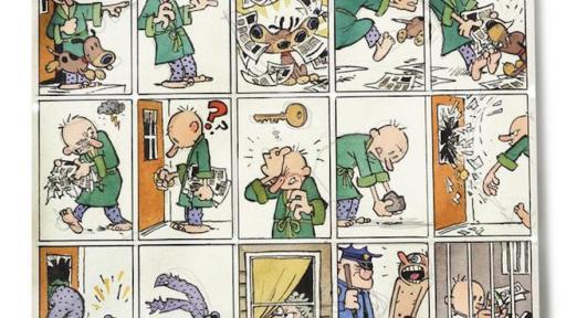 Bill Watterson's newest 15 panel cartoon strip.