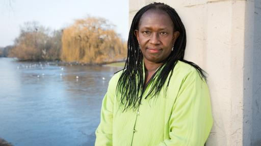 A partner at Feilden+Mawson Architects and principal of her own practice, Elsie Owusu Architects. Photo: Pari Naderi.