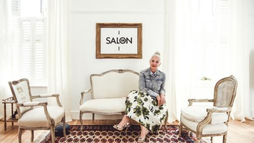 Jackie Burger, founder of Salon 58