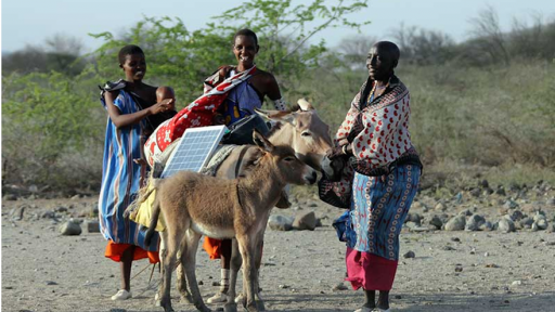 Maasai women deliver and install solar panels around remote Kenyan villages