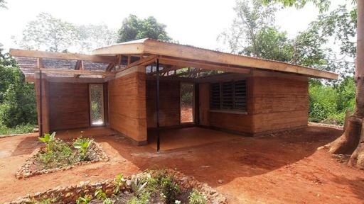 Anna Webster's Nkabom house is the happy union of plastic water sachets and vernacular architecture.