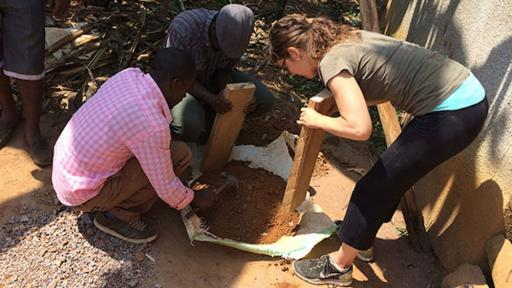 EarthEnable provides training to local Rwandans.