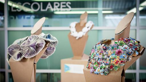 Mariana Acosta transforms trash into jewellery.