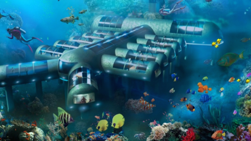 This 12-room, $20 million hotel will be nestled underwater.