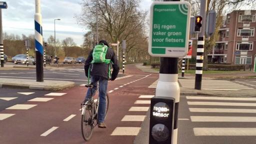 traffic light rotterdam