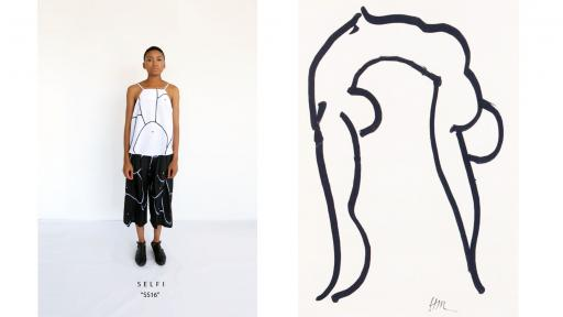 """Breasts of Desire"", the latest collection from Selfi, a Cape Town-based fashion label, explores the way women's bodies are portrayed in modern culture."