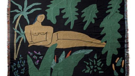 Jungle Blanket by Lilian Martinez of BFGF.