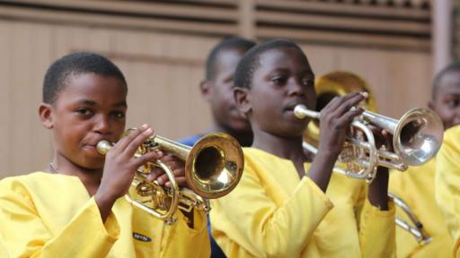 Music, art and dance helps children escape a life on the streets