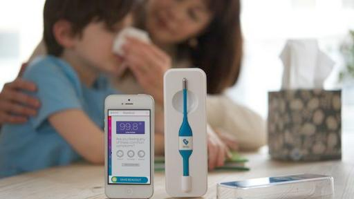 Smart the thermometer crowdsources info for real-time health tracking