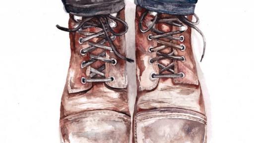 Claudia Liebenberg explores masculine themes through delicate watercolour illustration