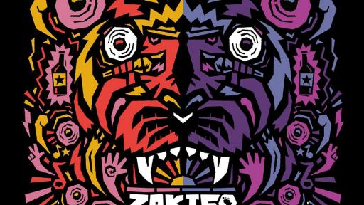 Kronk's poster design for the Zakifo Festival