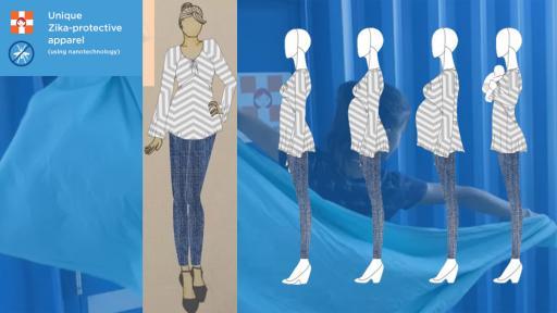 Zika-protective clothing by Maternova