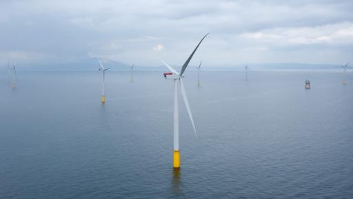 Dong Energy, Denmark wind turbine