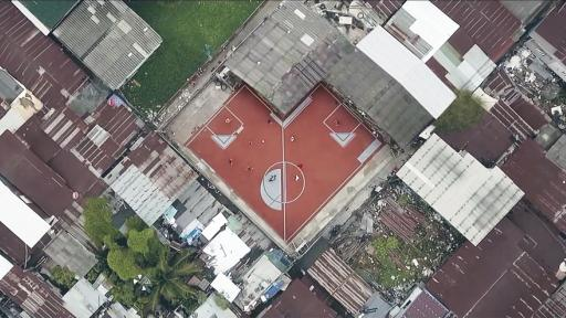 Unusual Football Field