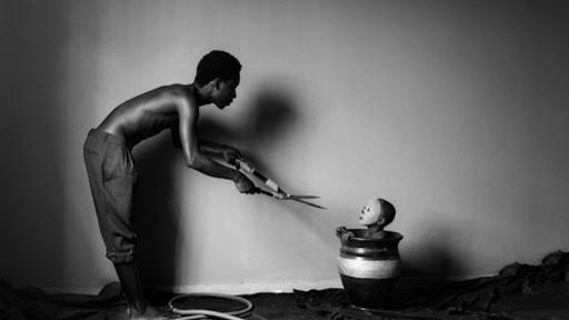 An entry of work by Eric Gyamfi, Asylum: fathers and sons 1 (3) (2014)