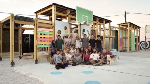 IBTASEM Playground for refugee children