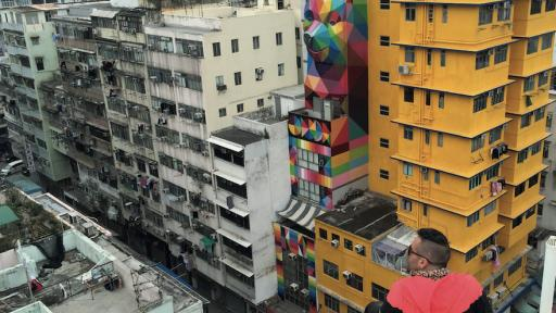 Rainbow Thief, Okuda, Hong Kong