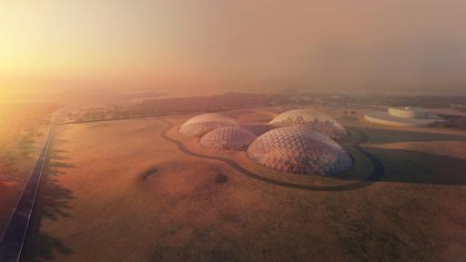 The UAE in collaboration with Danish architect Bjarke Ingels reveals their blueprint for the Mars Science City expected to be built over the next one hundred years.