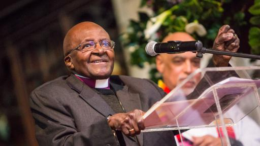 Archbishop Desmond Tutu at the Launch of the Arch for Arch
