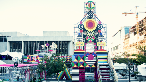 Embrace the Unknown by Morag Myerscough