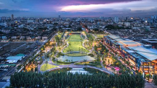 chulalongkorn university park