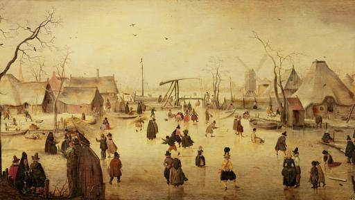 Hendrick Avercamp's 'Ice Scene'