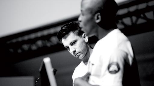 Danny K and Kabelo Mabalane